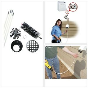 Rotary Dryer Vent Kit Cleaning System Appliance Laundry Parts Universal Brand US