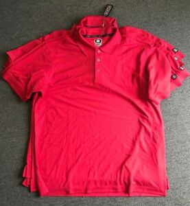 Men's XL OGIO Performance GOLF DRY FIT Polo SHIRT NEW QTY 5 POLYESTER MOISTURE