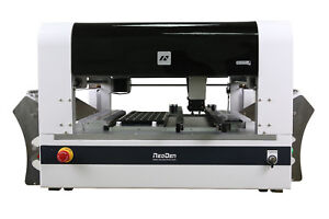 low cost pick and place machine Neoden4(30 feeders)+stencil printer+reflow oven
