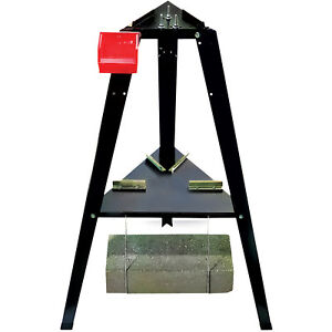 Lee Precision Reloading Stand Black Sturdy Powder Coated Steel Outdoor Sport