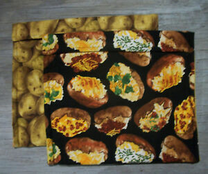 Potatoes Packed Twiced Baked Mr Potato Head Potatoes Microwave Baked Potato Bag