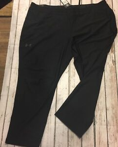 Under Armour Mens Training Workout  Sweat Pants Black sz 5XL New with tags