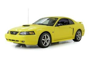 2001 Mustang -- 2001 Ford Mustang GT  71466 Miles Zinc Yellow Coupe 4.6 Liter