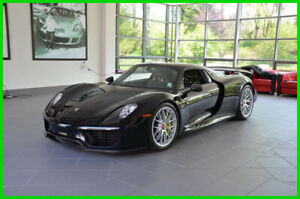 2015 Porsche 918 Spyder wWeissach Package 2015 wWeissach Package Used 4.6L V8 32V Automatic AWD Convertible Premium