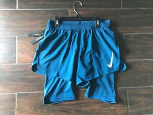Nike Men's Aeroswift 2-In-1 Running Shorts 892901-474 Size Small  $55 MSRP $125