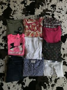10 Pieces Girls Clothing SZ L Under Armor, Justice, Abercrombie $60.00