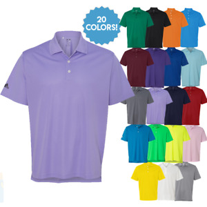 ADIDAS Mens Dri Wick Climalite GOLF Polo Sport Shirts Size S 3XL NEW A130 $32.99