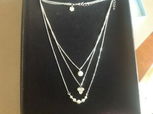 Touchstone Crystal by Swarovski Maddie Pearl Crystal Statement Necklace New