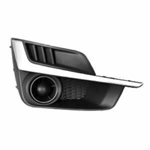 FITS FOR IMPREZA 2015 2016 FOG LAMP COVER W O HOLE W SILVER RIGHT PASSENGER $24.78