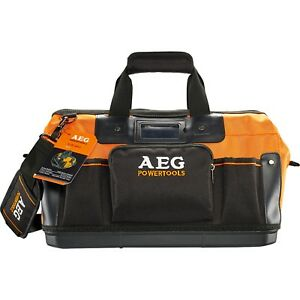AEG TOTE TOOL BAG 15-Pockets, Open Mouth, Reinforced Base, ID Card Holder