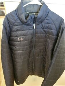 Under Armour Puffy Down jacket cold gear storm 3XL new with tags loose fit