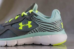UNDER ARMOUR VELOCITY RN sneakers for girls NEW & AUTHENTIC US size (YOUTH) 1