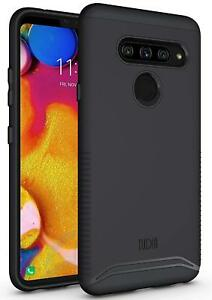 TUDIA Slim-Fit MERGE Dual Layer Protective Cover Case for LG V40 ThinQ