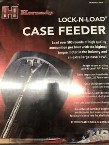 NEW SEALED  Hornady 95300 Lock-N-Load Ap Automatic Case Feeder SEALED