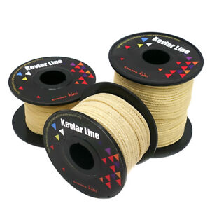 100lb ~ 2000lb Braided Kevlar Line Outdoor Utility Cord Fishing Camping Tactical