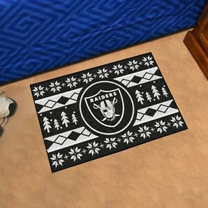 Oakland Raiders Holiday Sweater Design 19