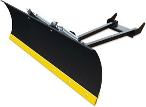 ATV Snow Plow Universal System 50 in. x 16 in. Industrial Powder Coated Steel