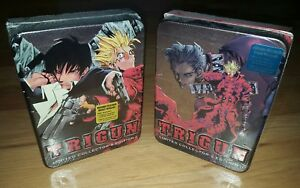 Trigun Anime Series Limited Collectors Edition Complete DVD Box Set 1 and 2