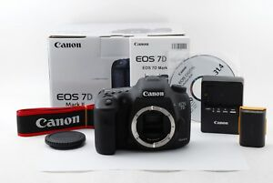 【Excellent】CANON EOS 7D Mark II Mark2 7D2 wBox from Japan 339417