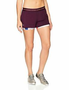 Under Armour Women's HeatGear 2-in-1 Printed Shorts - Choose SZColor