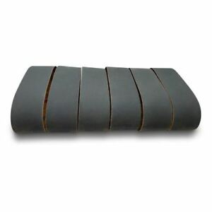 4 X 36 Inch Silicon Carbide Sanding Belts - 600, 800, 1000 Grits - 6 Pack Extra