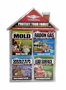 Home Safety Test Kit Value 4-Pack Radon WaterMold Lead