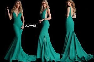 JOVANI 47075 JADE authentic dress. FREE UPSUSPS. LOWEST PRICE ! MANY COLORS