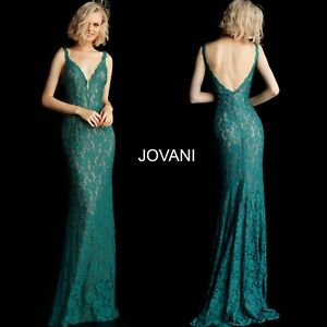 JOVANI 48994 EMERALD authentic dress. FREE UPSUSPS. MANY COLORS
