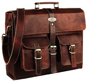 Leather Laptop Bag  Leather Messenger for Men and Women  Briefcases for Men