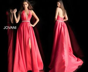 JOVANI 63652 RED authentic dress. FREE UPSUSPS. Many colors ! Official retailer
