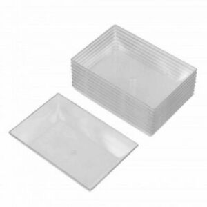 10pk Clear Mini Individual Dipping Sauce Appetizer and Condiment Serving Dishes $5.49
