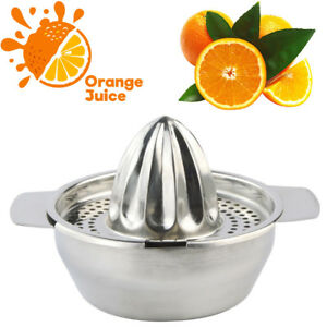 Stainless Steel Lemon Orange Lime Squeezer Juicer Hand Press Kitchen Tool IN USA