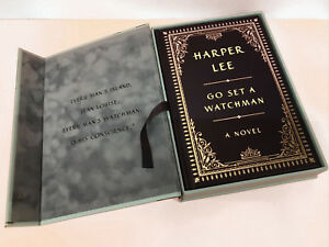 Go Set a Watchman by Harper Lee - 2015 - Hardcover Signed EASTON PRESS LEATHER