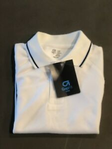 Gap Kids Boys Back To School White Dry Fit Polo Shirt Size 4-5 New With Tags