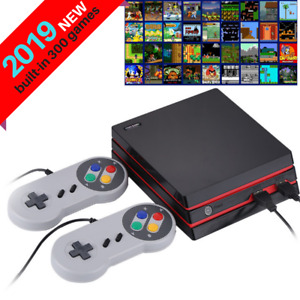 Retro HDMI TV Video Game Console Classic 300 Built-in Games + 2 Controllers