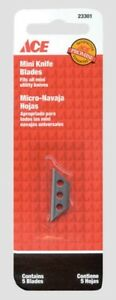 MINI Utility KNIFE Replacement Blades 5 blades