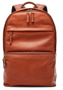 Fossil Walton Brown Leather Backpack NWT $328