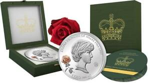 DIANA PRINCESS OF WALES 20th Anniversary 1 Kg Silver Coin 25$ Solomon Islands