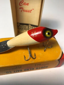 Vintage South Bend Explorer 920 RW Lure w BOX & PAMPHLET! - Beautiful!