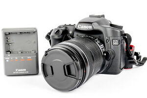 Used Canon 50d 15.1 megapixel DSLR with Canon EF-S 18-135 mm lens and 8 GB card