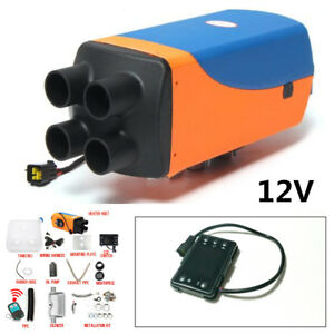 Durable 5KW 12V Diesel Air Heater 10L Tank+LCD Remote Control For Truck Car Boat