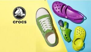 TWO Crocs 20% Off Coupon Entire Purchase Online Only **FAST DELIVERY**