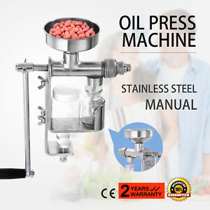 Mini Hand Press Manual Oil Machine Oil Expeller Extractor Tool Easy Operate NEW