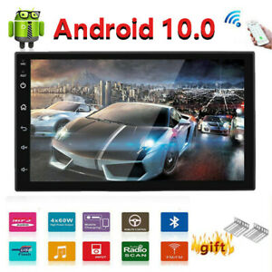 Android 8.1 Car Stereo Radio GPS Navigation WIFI OBD2 Multimedia Double Din 7