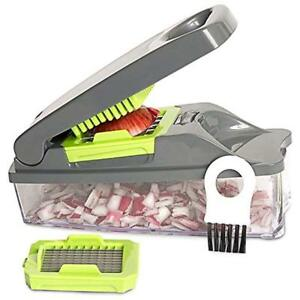 Onion Chopper Choppers Pro Vegetable By Mueller - Strongest NO MORE TEARS 30%