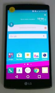 LG G4 H812 32GB AT&T T-Mobile Unlocked Android Smartphone Cellphone BLACK *GOOD*