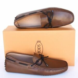 TOD'S Tods New sz UK 9.5  - US 10.5 Designer Mens Drivers Loafers Shoes brown