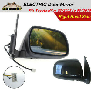Right Electric Door Mirror Fits TOYOTA Hilux 2005 to 05 2010 UTE RHS 2WD 4WD KUN AU $52.45