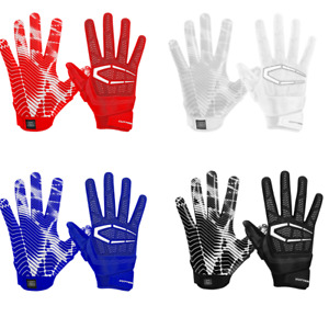 Cutters S652 Gamer 3.0 Padded Receiver Gloves Football Gloves (PAIR) ADULT