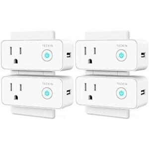 Smart Plug Outlet Switches Mini Wi-fi Travel Socket With USB Port Compa